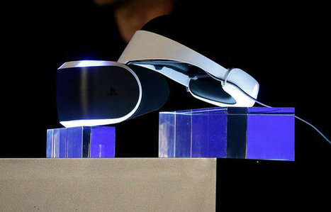 Sony Unveils Virtual Reality Headset - NYTimes.com | Wearable Technlogies | Scoop.it