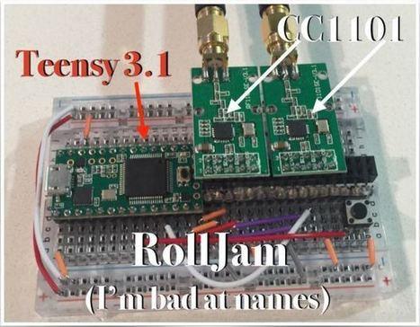 Anatomy of the Rolljam Wireless Car Hack | Open Source Hardware News | Scoop.it