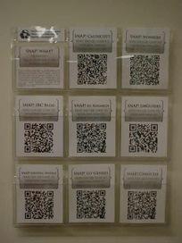 Library Cloud: Literature rack & QR codes | web 2.0 in het vak Nederlands | Scoop.it