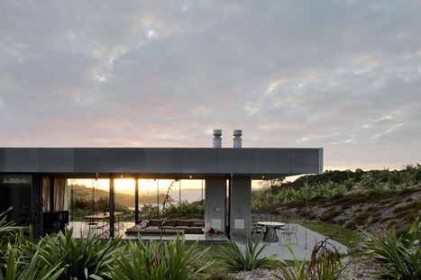 New Zealand retreat by Fearon Hay Architects | sustainable architecture | Scoop.it