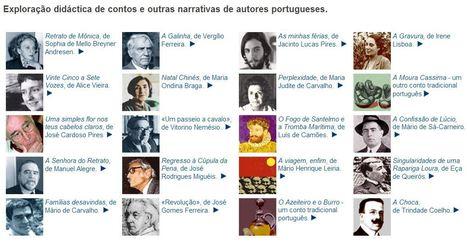 Exploração didáctica de contos e outras narrativas de autores portugueses. | Bolso Digital | Scoop.it