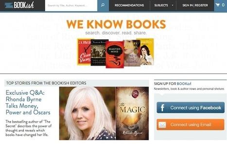 Bookish, nueva web para lectores - Leer en Pantalla - Libros ... | Cosas con palabras | Scoop.it