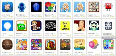 Las TIC y su utilización en la educación : 10 apps para mejorar el razonamiento lógico | IPad en educación | Scoop.it
