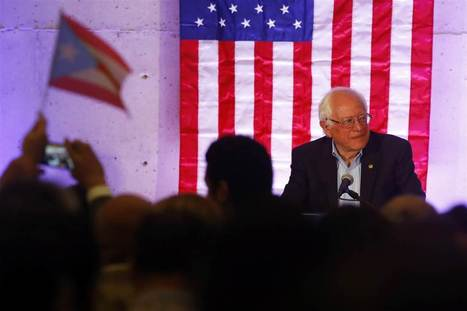 Sanders Drops Spanish in Puerto Rico, Escapes 'Hispandering' Criticism | Spanish in the United States | Scoop.it
