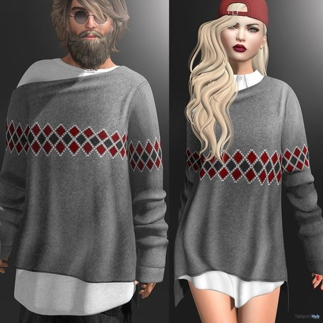 Lonnie Sweater And Lulu Sweater With Shirt For Men And Women Group Gift By Gizza Creations   Teleport Hub - Second Life Freebies   Second Life Freebies   Scoop.it