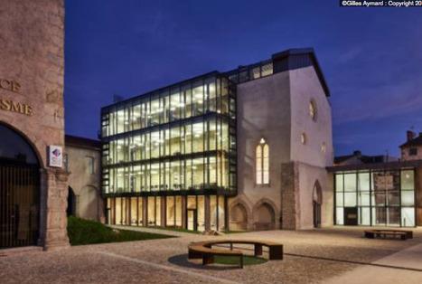 La médiathèque de Montbrison, un pont entre deux mondes | Architecture et Construction | Scoop.it