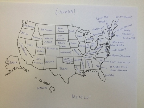 It's Thanksgiving So We Asked Brits To Label The United States — We're So Sorry, America | FCHS AP HUMAN GEOGRAPHY | Scoop.it