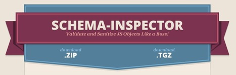 Schema-inspector - Validate and Sanitize JS Objects Like a Boss | Apprendre Node JS | Scoop.it