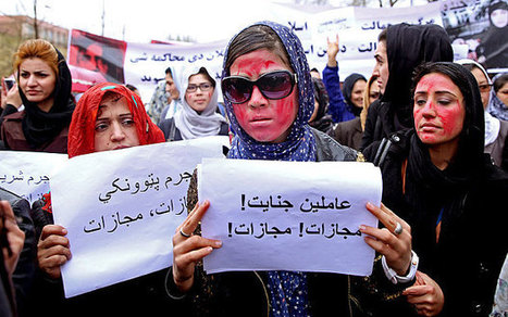 Thousands protest woman's mob killing in Afghanistan capital | woman | Scoop.it