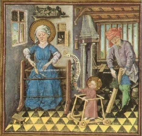 The Infant Jesus in a Baby Walker | Rhit Genealogie | Scoop.it