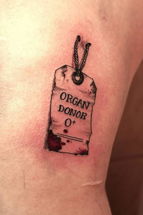 10 Coolest Tattoos Of Instructions | Strange days indeed... | Scoop.it