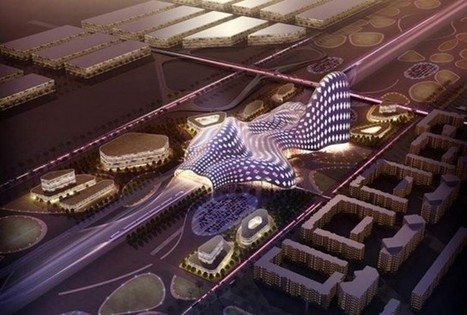 Astana Railway Station by LAVA Architects | ARCHIresource | Scoop.it