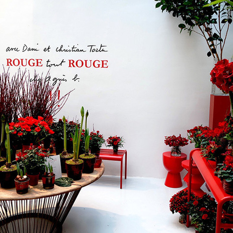 Rouge tout Rouge chez Agnès b - Fashion Spider - Fashion Spider – Mode, Haute Couture, Fashion Week & Night Show | Spider News | Scoop.it