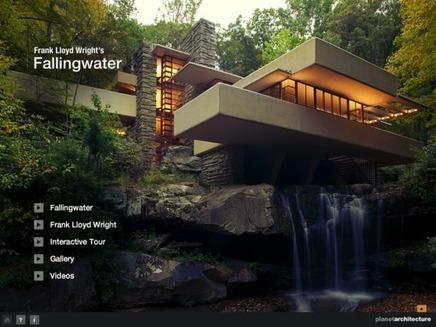 Visiter la maison sur la cascade il y a une ap for Maison cascade