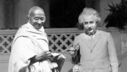 Albert Einstein Expresses His Admiration for Mahatma Gandhi, in Letter and Audio   JWK World History   Scoop.it