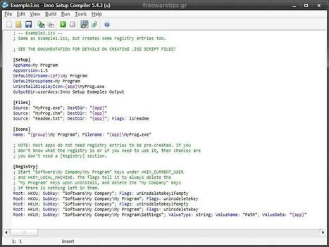 Inno Setup - Δημιουργία προγραμμάτων εγκατάστασης | Freeware Tips | Scoop.it