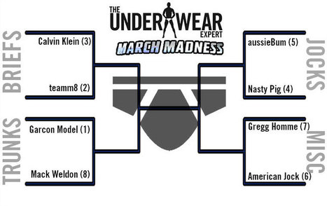 The Underwear Expert March Madness Elite Eight | Gay | Scoop.it