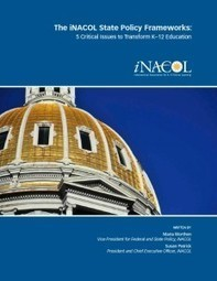 Promising State Policies for Personalized Learning - iNACOL | Online and Blended Learning in K-12+ | Scoop.it