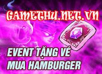Dota Truyền Kỳ nhận vé Tặng Hamburger - Sự kiện game Dota TK   Game online   Scoop.it