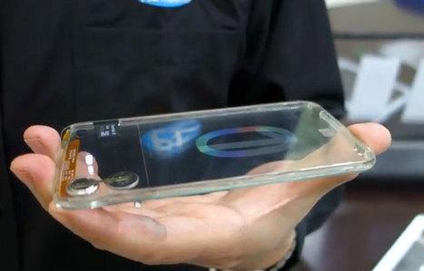 El smartphone completamente transparente llegará este año - ADSLZone.net | Tecnologiaatenea | Scoop.it
