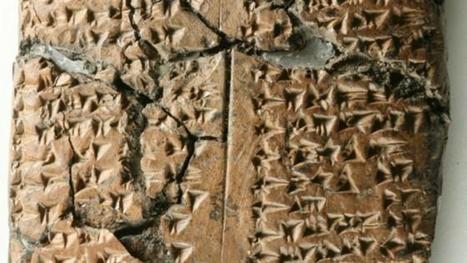 Actualité > Archéologie : un langage disparu découvert sur une tablette d'argile   Merveilles - Marvels   Scoop.it