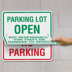 Common Types of Parking Signs | Seton Blog | Scoop.it