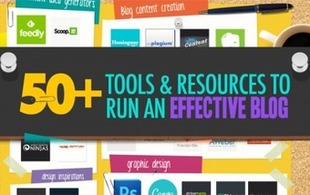 50+ Awesome Tools I Use To Run An Effective Blog | Tech and Digital | Scoop.it