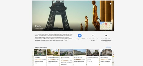 Google hace oficial el lanzamiento de su app de viajes: Google Trips | SOCIAL Media & Commerce  & Mobile & altri | Scoop.it