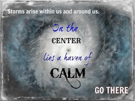 How do you stay calm during the storm? | kamyabology | Scoop.it