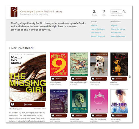 A Road Map to OverDrive's Next Generation | eBooks and libraries | Scoop.it