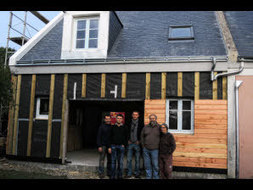 Une maison en bois et carton visitable à Belle-Ile-en-Mer ! | Le flux d'Infogreen.lu | Scoop.it