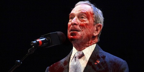 Blood-Soaked Mayor Bloomberg Announces Homelessness No Longer A Problem In New York City | Humour | Scoop.it