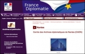 Les archives diplomatiques restent à Nantes | GenealoNet | Scoop.it