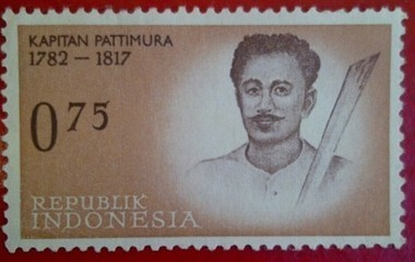 Kapitan Pattimura (1782 - 1817) Collection stamp series Legend of Heroes Indonesia | RedGage | Stamp Collection | Scoop.it