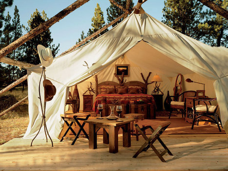 It just doesn't get any more luxe than Glamping at Paws Up! | Travel Maestro | Glamping | Scoop.it