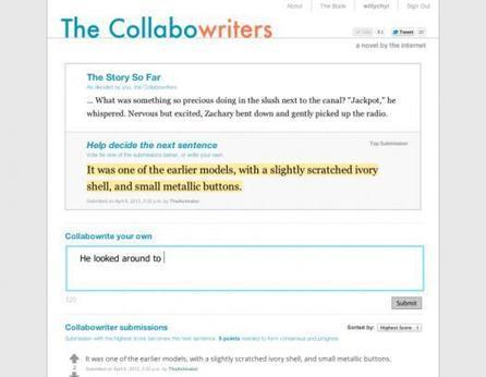 Crowdsourced Novel Gets Written By The Internet | Newspotting | Scoop.it