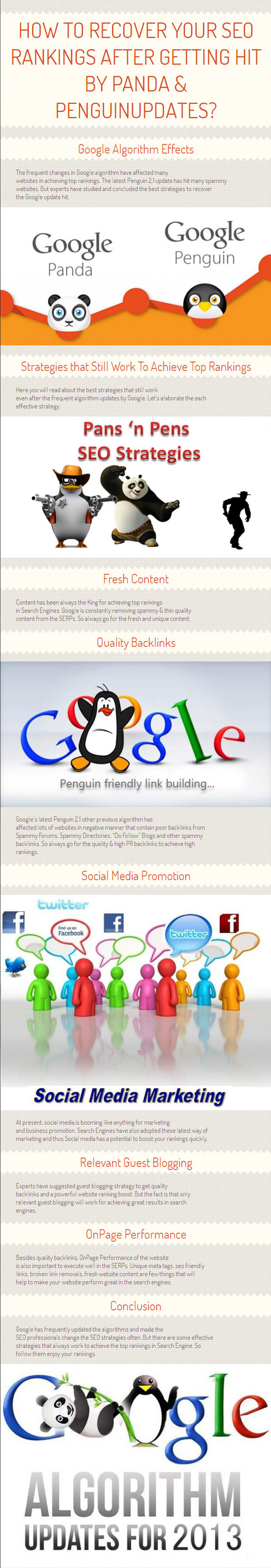 How To Recover Your SEO Rankings After Getting Hit By Panda & Penguin Updates? By www.topranker.biz | Topranker | Scoop.it