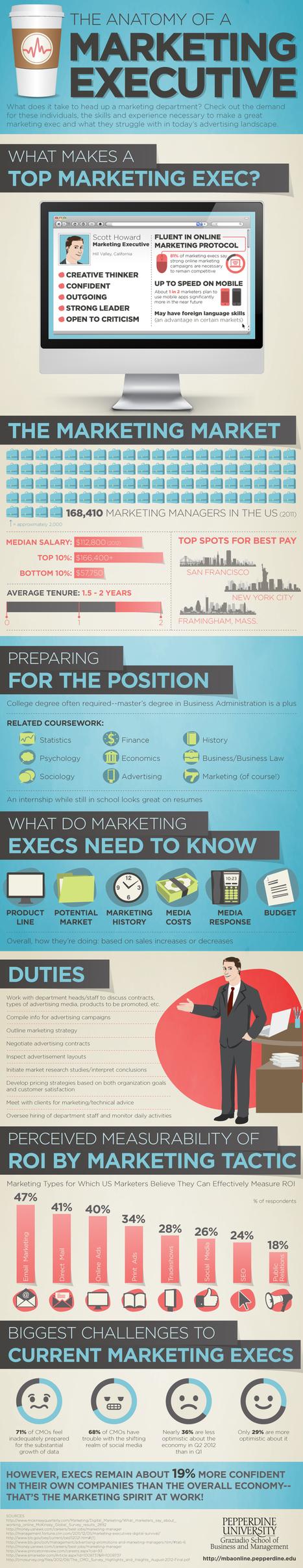 MBA Online Pepperdine » The Anatomy of a Marketing Executive | Marketing & Webmarketing | Scoop.it