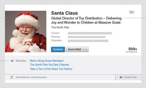 What Santa Can Teach Us About LinkedIn Profiles | All About LinkedIn | Scoop.it