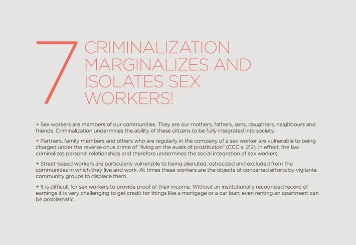 Ten Reasons to Fight for the Decriminalization of Sex Work | Let's Get Sex Positive | Scoop.it