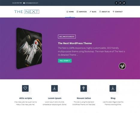 The Next (Core) | wp theme | Scoop.it
