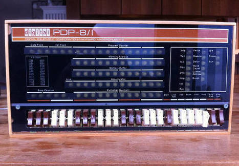 PiDP - A Pi Based PDP-8/I | Raspberry Pi | Scoop.it