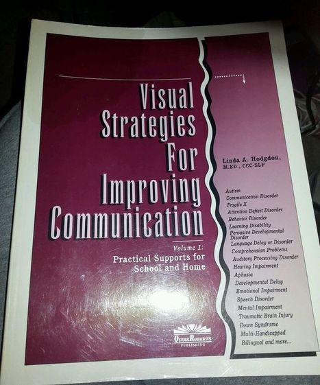 Visual Strategies for Improving Communication : Practical Supports for School... | Visual Supports | Scoop.it