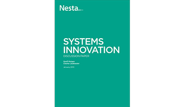 Systems Innovation Discussion Paper - Nesta | Business change | Scoop.it