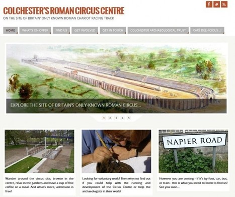 Colchester Roman circus : new web-site goes live! | Archaeology News | Scoop.it