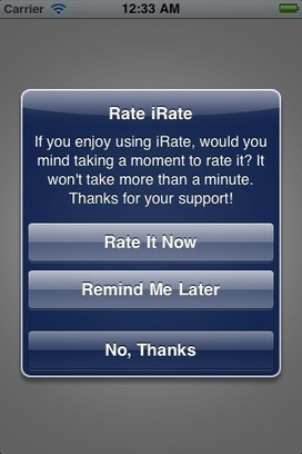 """Tutorial: """"Write a Review"""" / """"Rate Us"""" 