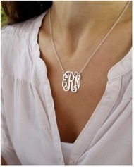 Personalized Monogram Jewelry As Gift For Bridesmaid | Monogrammed Necklaces | Scoop.it