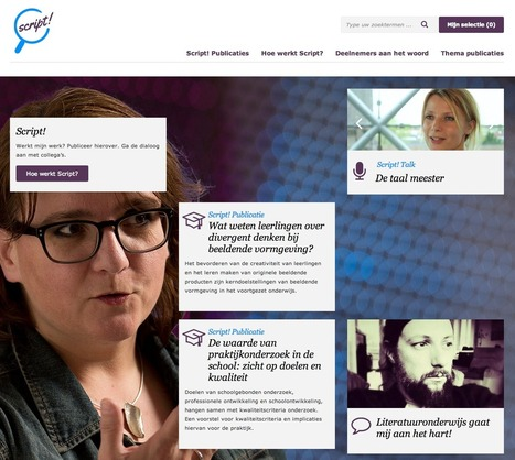 Alles kan altijd beter: Nieuwe website over onderwijsonderzoek | D.I.P. Digital in Progress | Scoop.it