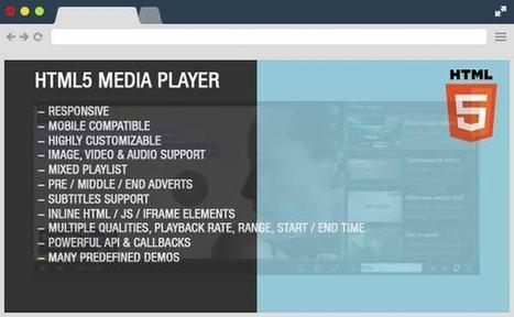 Premium HTML5 Media Player | Designrazzi | Bazaar | Scoop.it