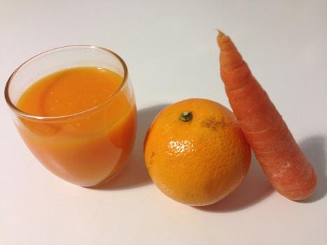 Zumo de naranja y zanahoria | Ecológico Cultura Ciencia Educación Padres Desarrollo Mundo | Scoop.it